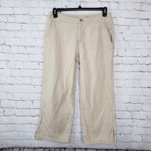 The North Face crop A5 series vented hem sz10